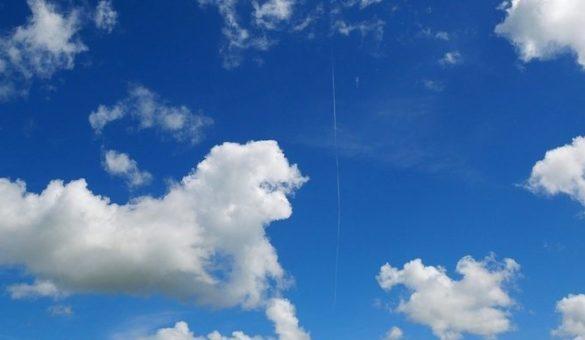 Ciel bleue nuages 2